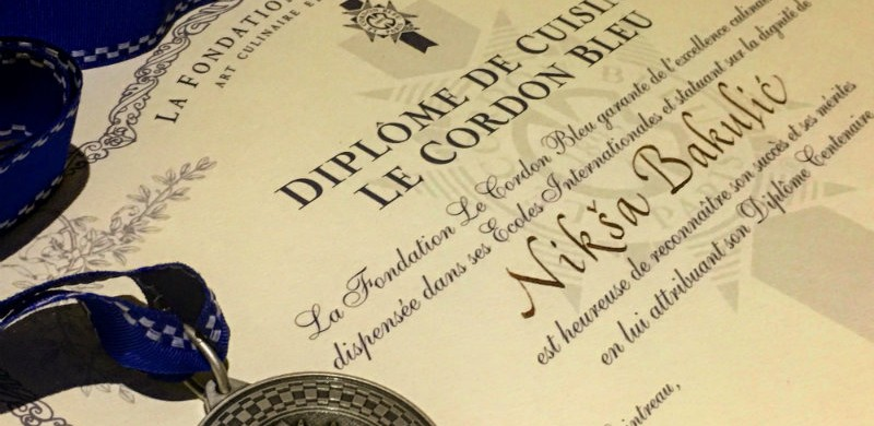 Niksa Bakulic diploma - mala